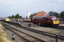 67010 + D1062 WESTERN COURIER - 6-9-14 - Kidderminster Town (Severn Valley Railway) (1)