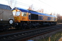 66753 EMD Roberts Road - 30-12-14 - Bushbury Junction (1)