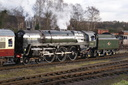 70013 OLIVER CROMWELL - 31-1-15 - Quorn & Woodhouse (Great Central Railway)