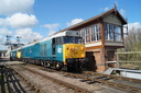 50008 Thunderer + 50015 Valiant - 11-4-15 - Wansford (Nene Valley Railway)