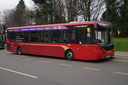 2232 YX15PAO 'Evangeline' - 5-12-15 - Station Approach, Solihull, Birmingham