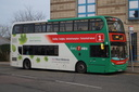 5418 BX13JPU 'Myia' - 28-12-15 - Pipers Row, Wolverhampton