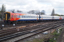 159003 (57875 + 58720 + 52875 TEMPLECOMBE) - 26-4-16 - Clapham Junction