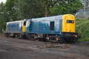 20205 + 20142 - 21-5-16 - Kidderminster (Severn Valley Railway)