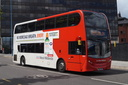 4884 BX13JVP 'Ronnie Morgan' - 2-7-16 - The Priory Queensway, Birmingham