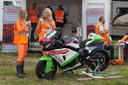 Models and Bike at Long Marston - 22-6-16