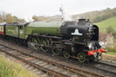 60163 TORNADO - 6-11-16 - Highley (Severn Valley Railway) (1)