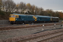 33035 + 45060 SHERWOOD FORESTER + 31452 - 18-11-16 - Bromsgrove