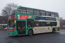 5420 BX13JPY 'Ruby' - 30-12-16 - Dudley Bus Station (1)