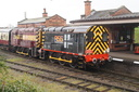 08480 + 08694 - 18-3-17 - Quorn & Woodhouse (Great Central Railway)