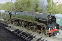 71000 DUKE OF GLOUCESTER - 10-10-04 - Barrow Hill Roundhouse (2)