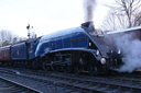 60007 Sir Nigel Gresley - 14-3-09 - Brignorth (1)