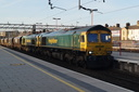 66585 + 66522 east london express - 24-2-18 - Stafford