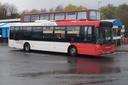 1851 BX58SXR - 27-4-18 - Dudley Bus Station
