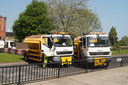 Wolverhampton Council have the gritters out on one of the hottest days of the year - 7-5-18