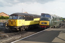 56078 + D832 ONSLAUGHT - 18-5-18 - Kidderminster Town (Severn Valley Railway) (1)