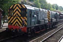D4100 Dick Hardy + D3022 - 18-5-18 - Bewdley (Severn Valley Railway)