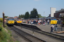56078 + 66726 SHEFFIELD WEDNESDAY + 50031 Hood - 19-5-18 - Kidderminster Town (Severn Valley Railway)