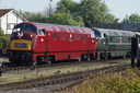D821 GREYHOUND + D832 ONSLAUGHT - 19-5-18 - Kidderminster Town (Severn Valley Railway)
