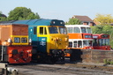 D9551 + 407 Hercules + + 234 JHA234L - 19-5-18 - Kidderminster Town (Severn Valley Railway)