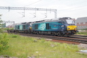 68018 Vigilant + 68016 Fearless - 24-5-18 - Bushbury Junction