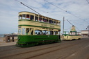 147 + 600 DUCHESS OF CORNWALL - 11-7-18 - North Pier (Blackpool Tramway)